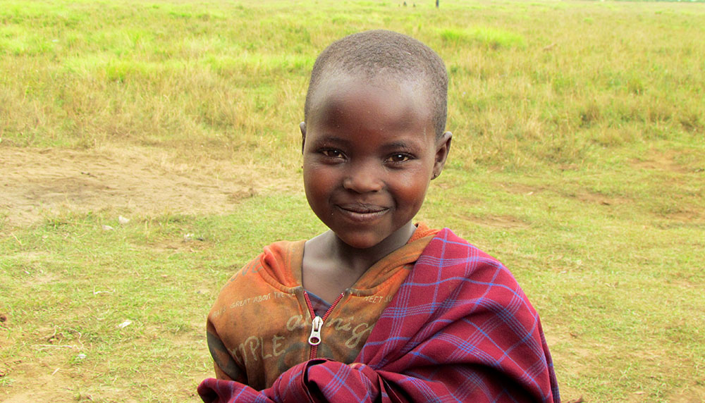 A Maasai girl of the Ngorongoro Community Network