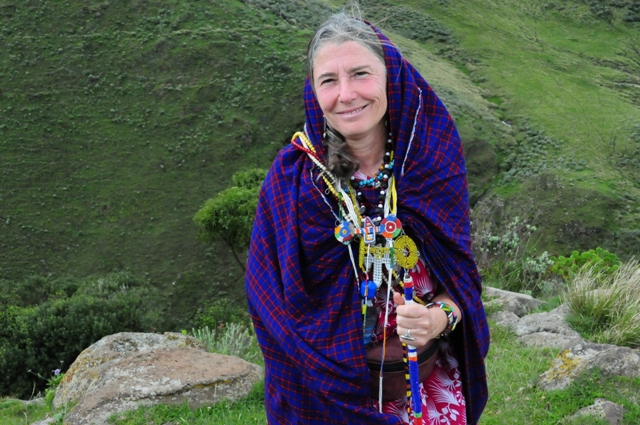 Judith Lane, President of Ngorongoro Community Network